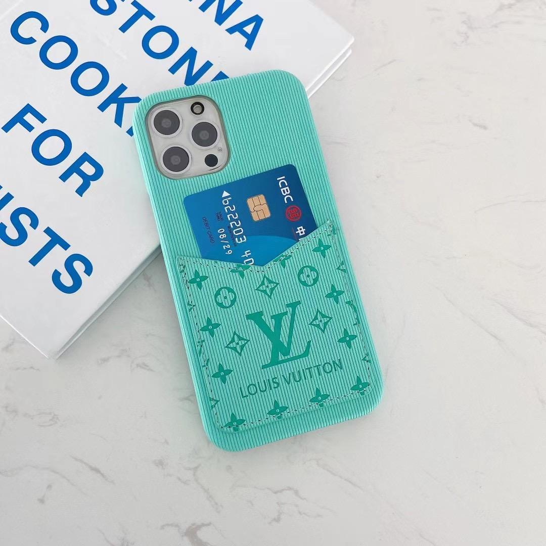phone case with card and logo for iphone 12 pro max xs max xr 11 pro max 8 8