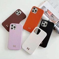 Brand phone case with card and logo for
