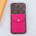 New LV phone case with card for iphone 12 pro max 12 pro 11 pro max xs max 7 8