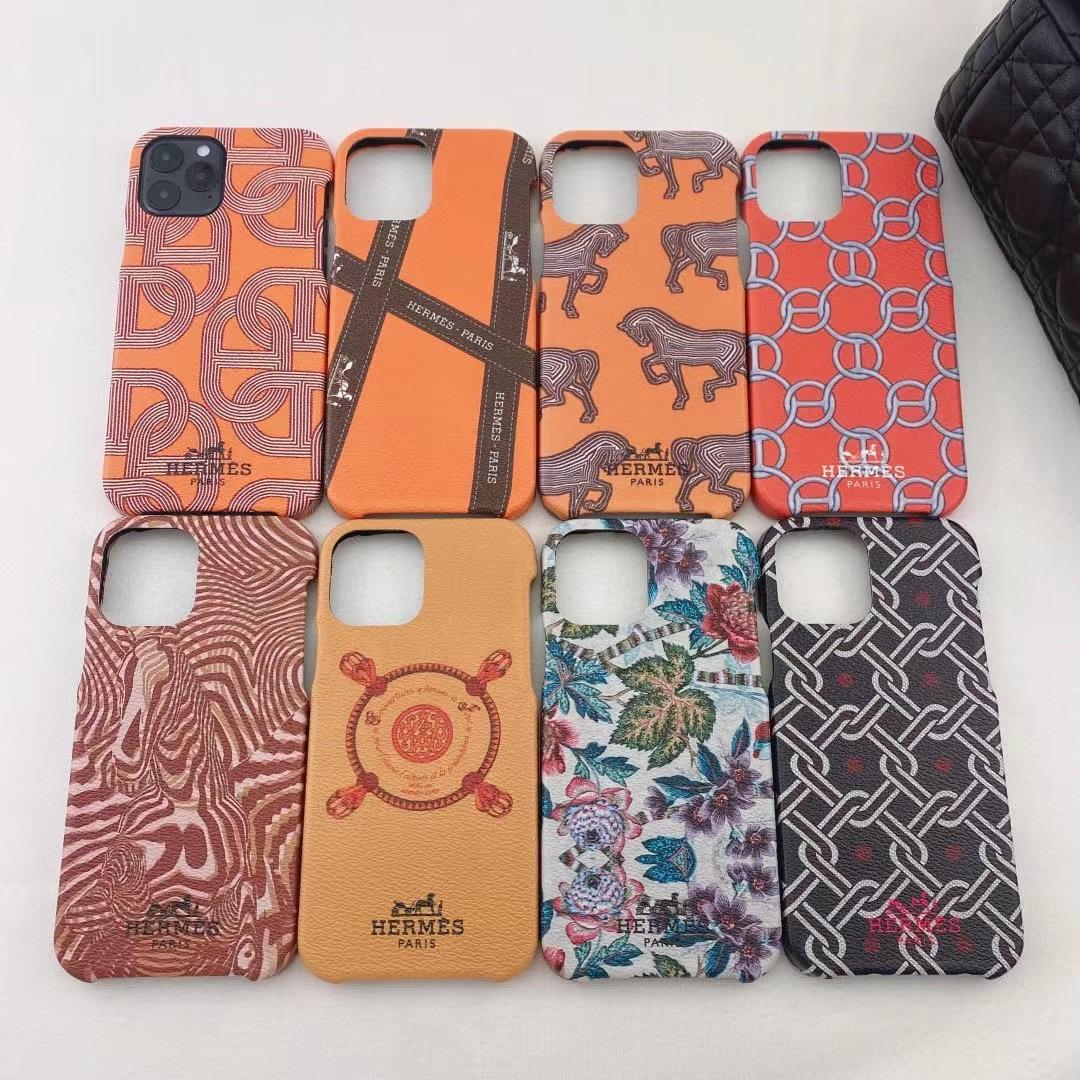 New hermes lether case for iphone 12 pro max 12 pro 11 pro max xs max 7 8plus