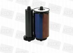 iDP Smart 650634 YMCKO Compatible Ribbon - 250 prints/roll