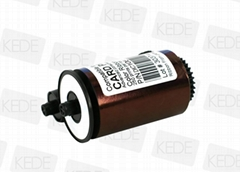 For MATICA  DIC10570 card printer ribbon - 250 prints/roll