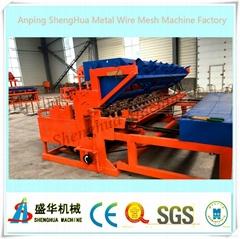 Automatic welding panel machine