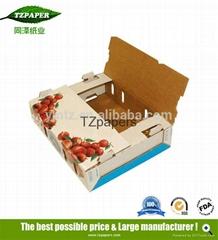 同澤紙業定製果蔬專用紙箱防水運輸蠟紙箱