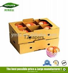 同澤紙業定製水果包裝運輸防水紙箱蠟紙箱