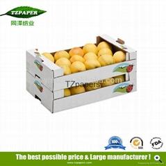 同澤紙業供應果蔬專用冷鏈運輸蠟紙箱