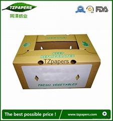 同澤紙業定製果蔬冷鏈運輸防水蠟紙箱