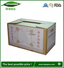 同澤紙業工廠定製果蔬包裝防水蠟紙箱