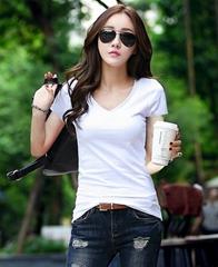 Women's Casual  T-Shirt  Short Sleeve Basic Tunic Blouse Tops