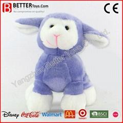 push toys customized stuffed Lamb sheep animal toys