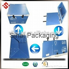 Factory direct sale pp corrugated carton container storage