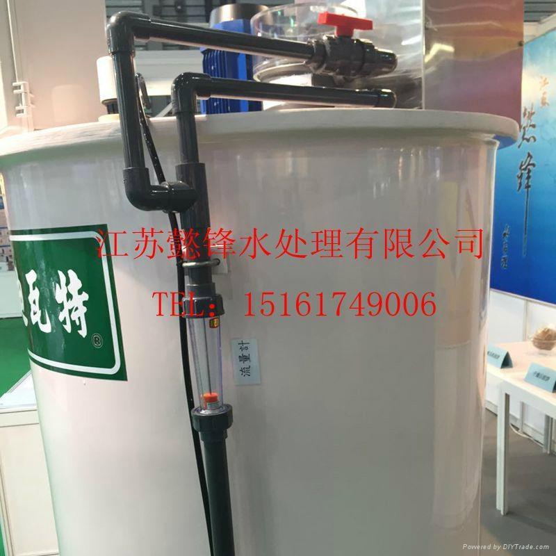 迪瓦特高分子投藥設備污水處理全自動泡藥機 5