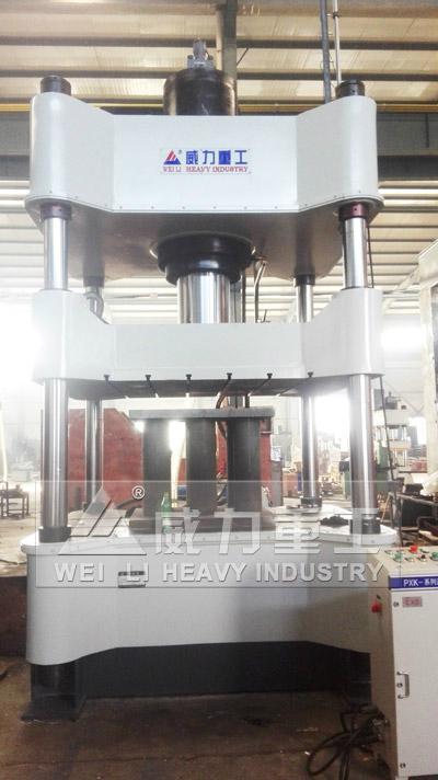 500噸金屬粉末成型液壓機 2