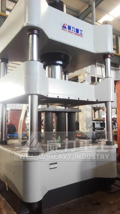 500噸金屬粉末成型液壓機 3