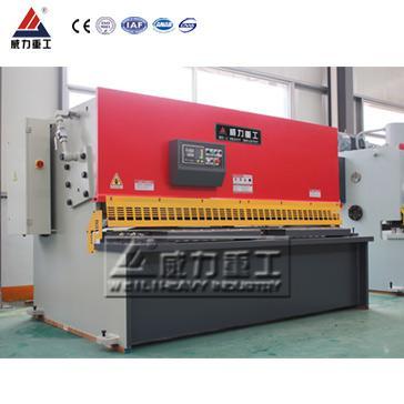 QC12Y-6x2500液壓擺式剪板機 2