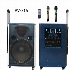 "12""/15"" 2 WAYS PA SPEAKER BULIT-IN BLUE TOOTH WITH 2 WIRELESS MIC"