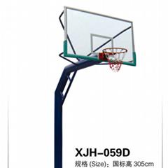 钢化玻璃篮球架厂家直销