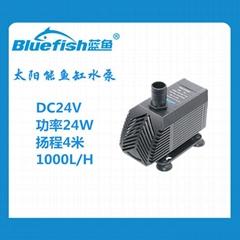 24V直流无刷鱼缸潜水泵抽水泵太阳能鱼缸水泵