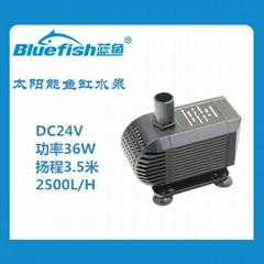 24V低压直流无刷太阳能鱼缸潜水泵
