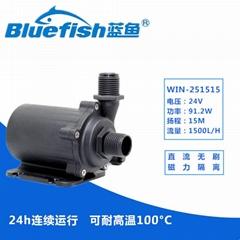 24V假山鱼池抽水泵太阳能热水器抽水增压泵