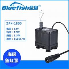 12V无刷直流自吸泵鱼缸过滤泵水族箱抽水泵