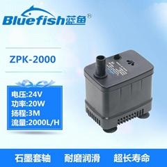 24V鱼缸潜水泵无刷直流鱼缸水族箱抽水换水泵