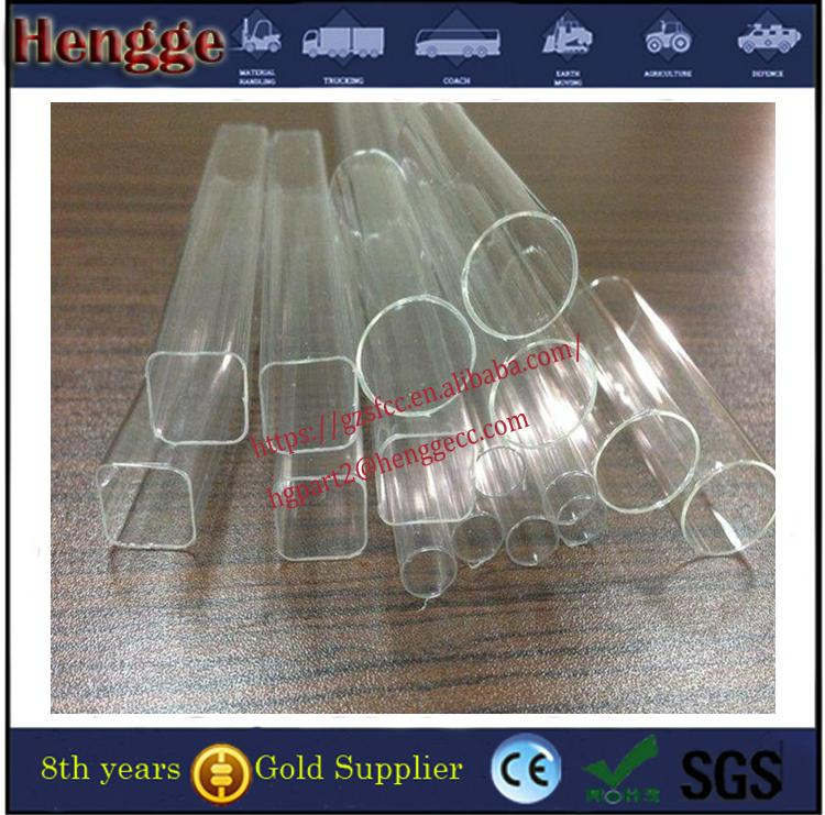 Guangzhou manufacture  color threaded acrylic tube clear acrylic tube 5