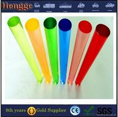 High quality cnc machined color acrylic rod custom size acrylic pmma rod