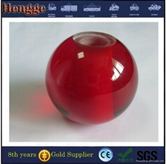 Plastic Sphere Color Acrylic Ball With Hole 11mm