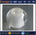plastic clear acrylic sphere balls UV transparent solid acrylic ball with hole f 4