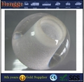 plastic clear acrylic sphere balls UV transparent solid acrylic ball with hole f 3