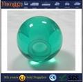 Clear decorative acrylic ball with hole 2