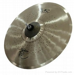 "Professional Tongxiang popular 8""10""12"" Splash cymbal for jazz drum set"