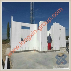 Eps fireproof thermal insulation steel