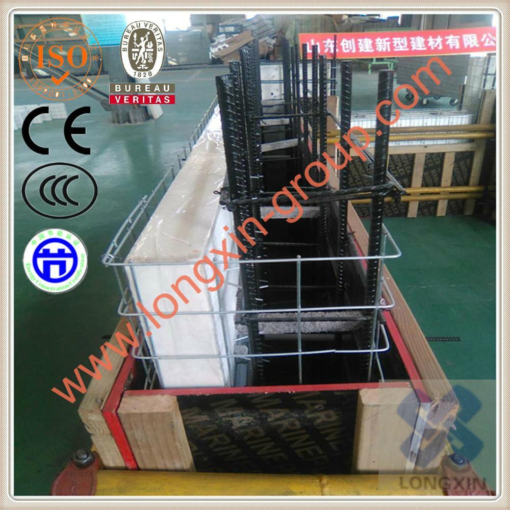 Eps fireproof thermal insulation steel wire mesh sandwich board 2