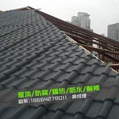 株洲醴陵中式樹脂瓦廠家特價促銷