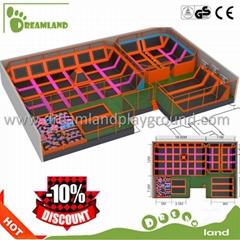 OEM professional Gymnastic indoor trampoline park