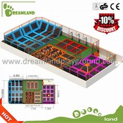Wholesale Hot sale large size best trampoline for kids