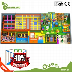 China Hot sale High Quality sky zone Indoor Trampoline Park