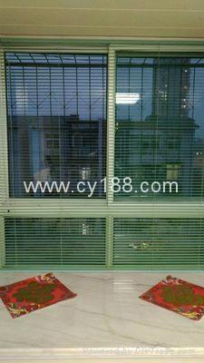 Aluminum alloy blind window 3