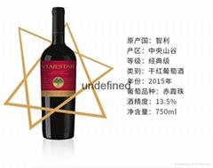 智利星空旅行经典赤霞珠干红葡萄酒