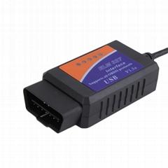 Elm327 USB V1.5 Auto Car Diagnostic Tool Obdii Can-Bus Scanner