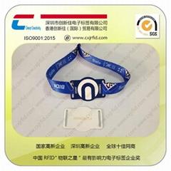 創新佳RFID編織腕帶