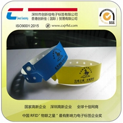 RFID杜邦紙手腕帶
