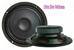 HIGH QUALITY 8 INCH ULTRAL SLIM CAR MIDBASS SPEAKER