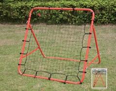 Anti rebound soccer goal
