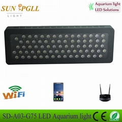 40cm 60cm 80cm wifi intelligent led aquarium lights