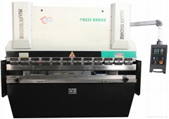Hydraulic Press Brake WF67k-63t/2500mm with A62 Control system