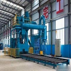 广西玉林H型钢通过式抛丸机