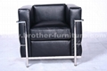 Replica sofa with factory price 8015bl brother china for Imitation designer chairs